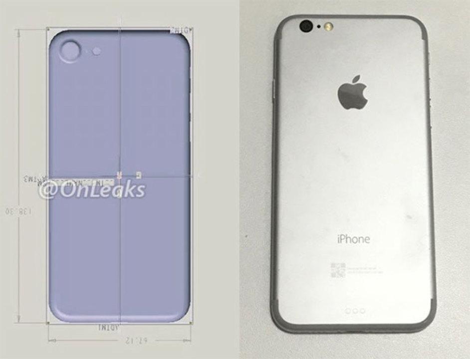 iPhone 7はこのデザインに? 図面やダミー本体がリークか