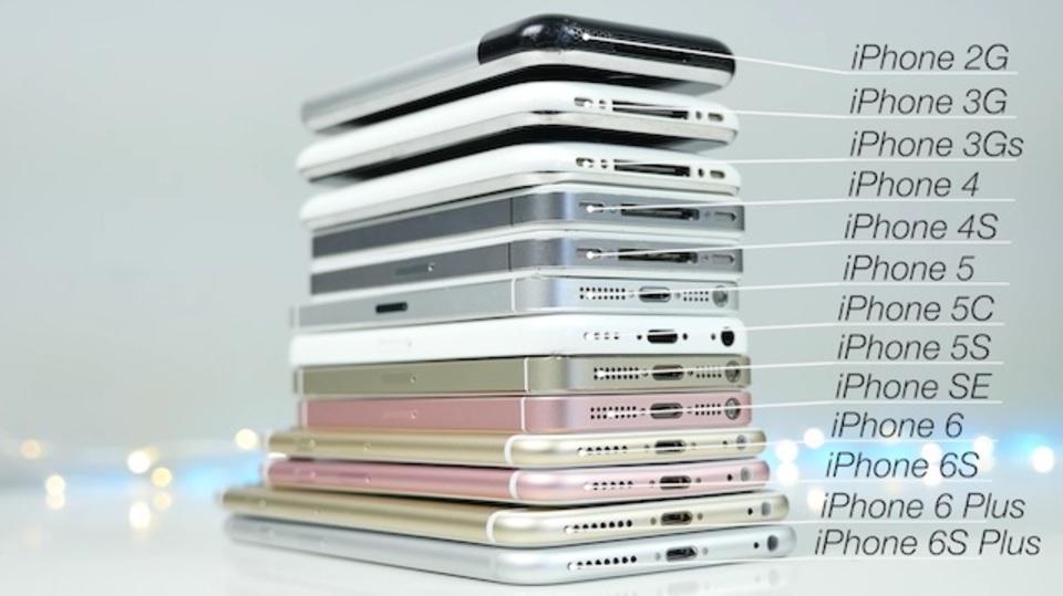 iPhone SEは隠れエース? 初代からSEまですべてのiPhoneを性能比較