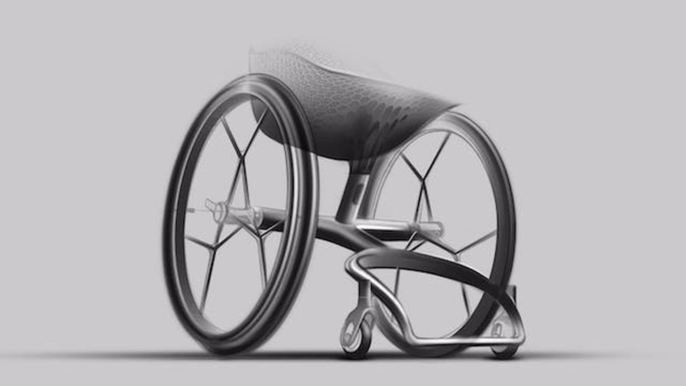 こんなスタイリッシュな車椅子、見たことありますか?