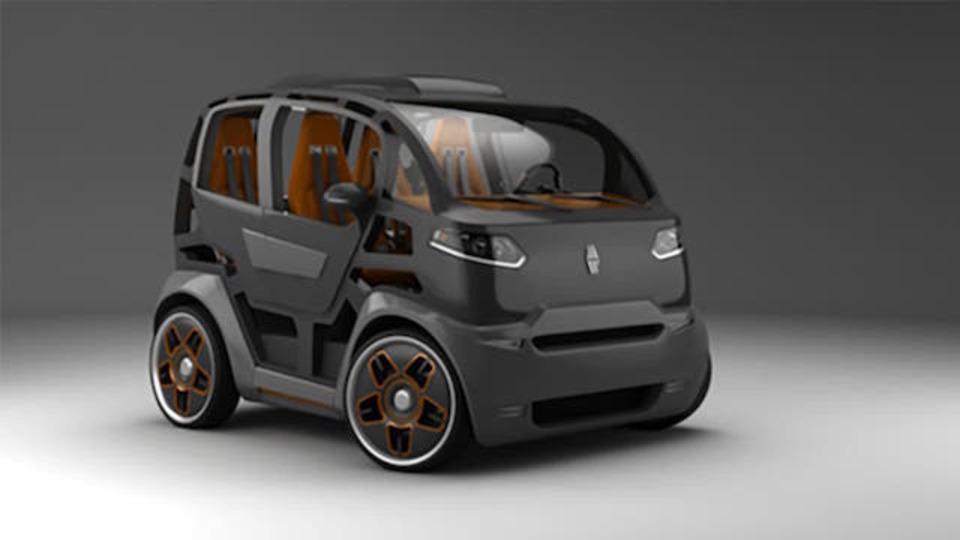 コロッコロにキュートな都市型自動車、ロシアより登場
