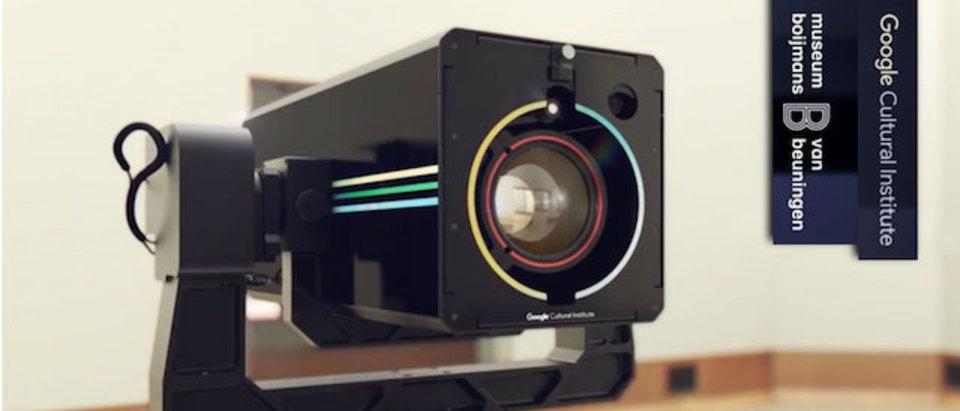 Googleがギガピクセルの「Art Camera」で、美術品の記録を後世に残す