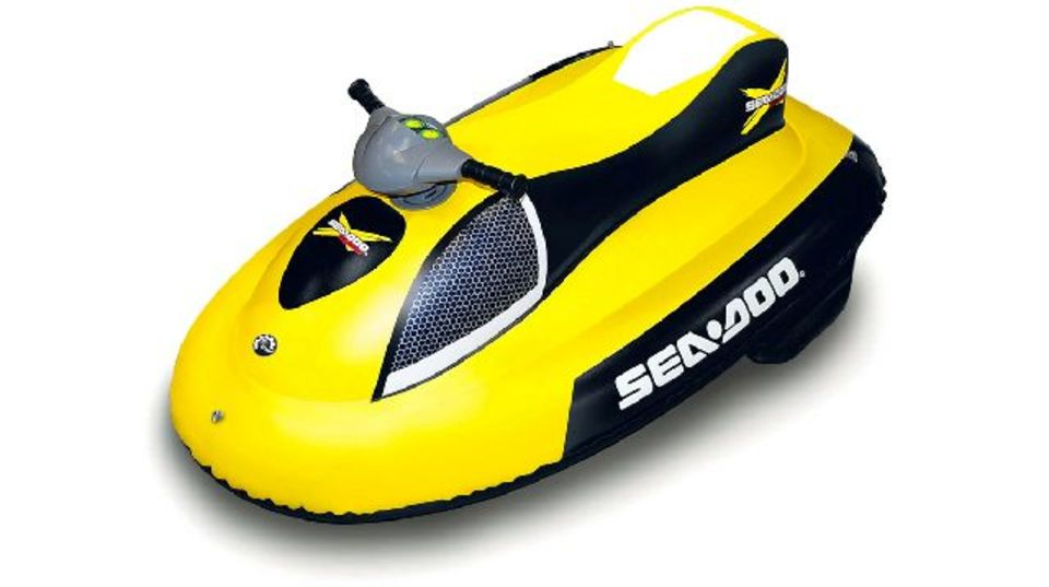 キッズだけじゃもったいない!精巧過ぎの子供用電動ゴムボートが本気モード