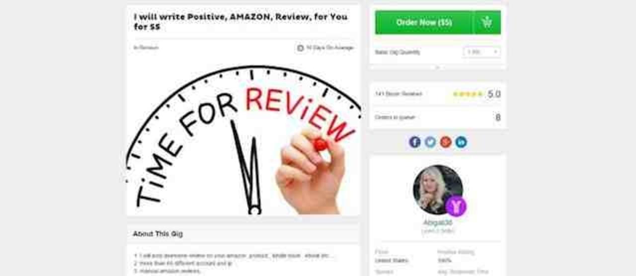 Amazonが、サクラに金を払って高評価レビューを集めていた出店企業を提訴する