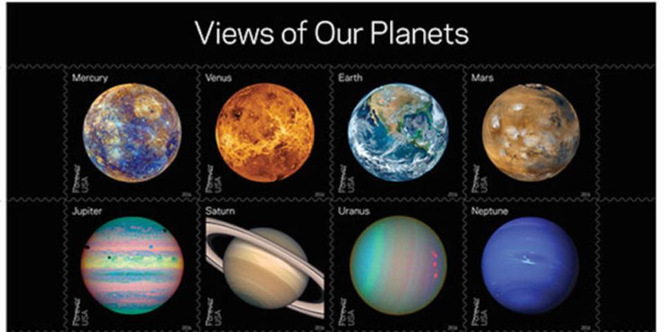 アメリカで宇宙切手発売! 久しぶりに手紙書きたくなりました
