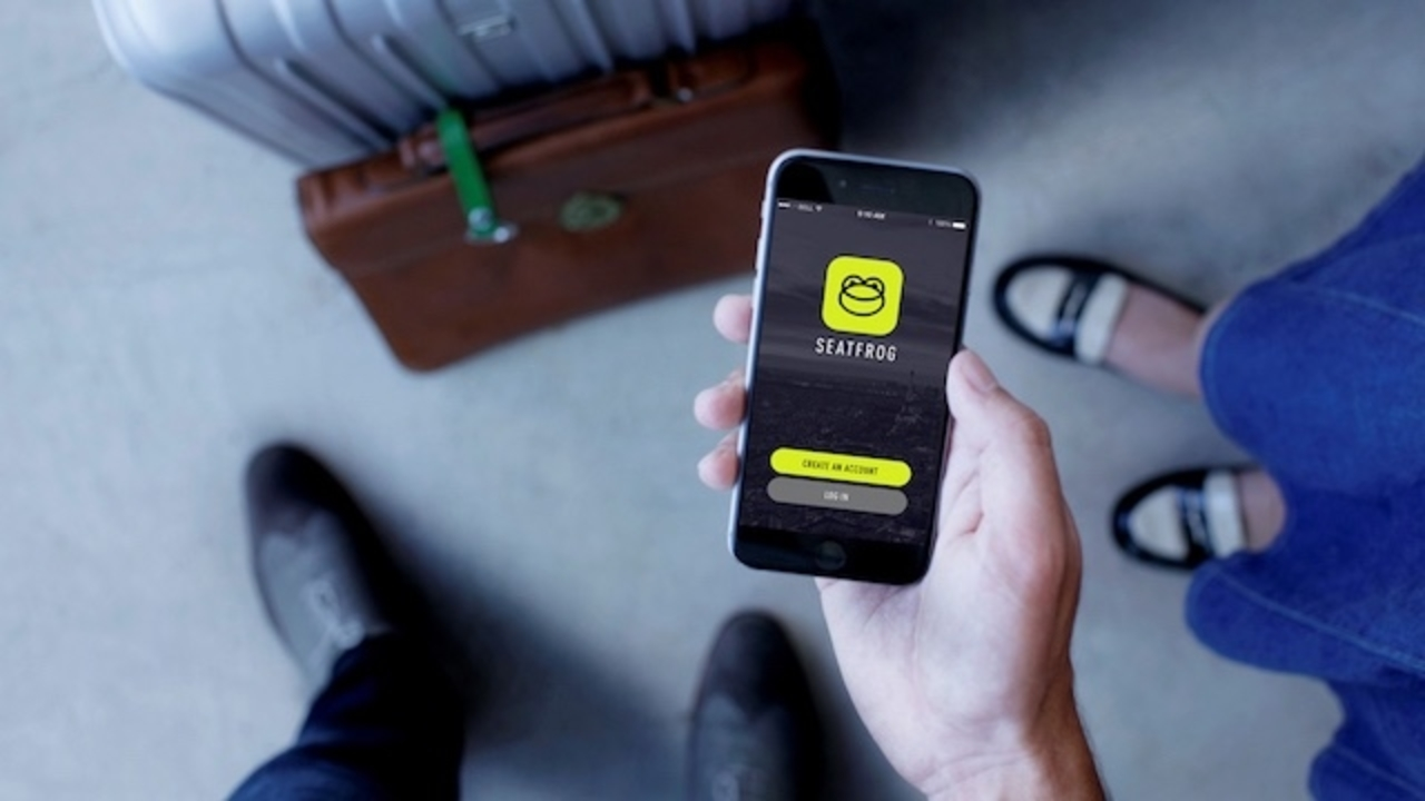 オークション形式で上級客室にアップグレードできるアプリ「Seatfrog」これが航空産業を変える?