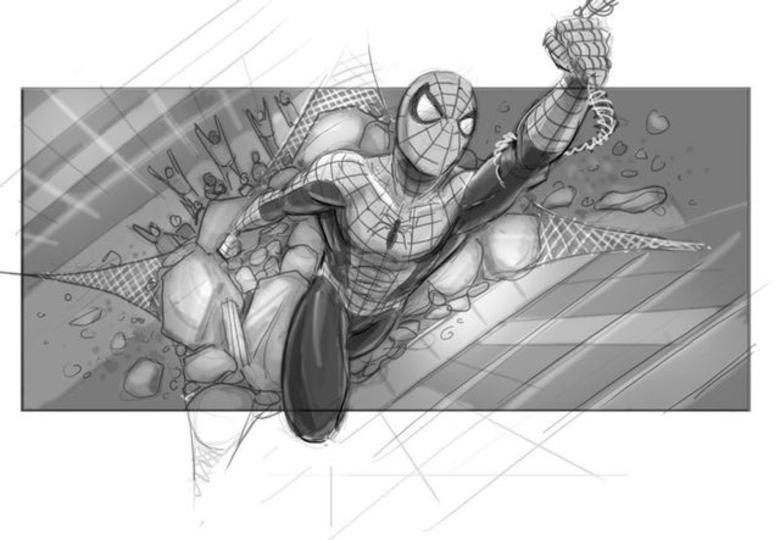 実現しなかった幻の「スパイダーマン4」のストーリーボード