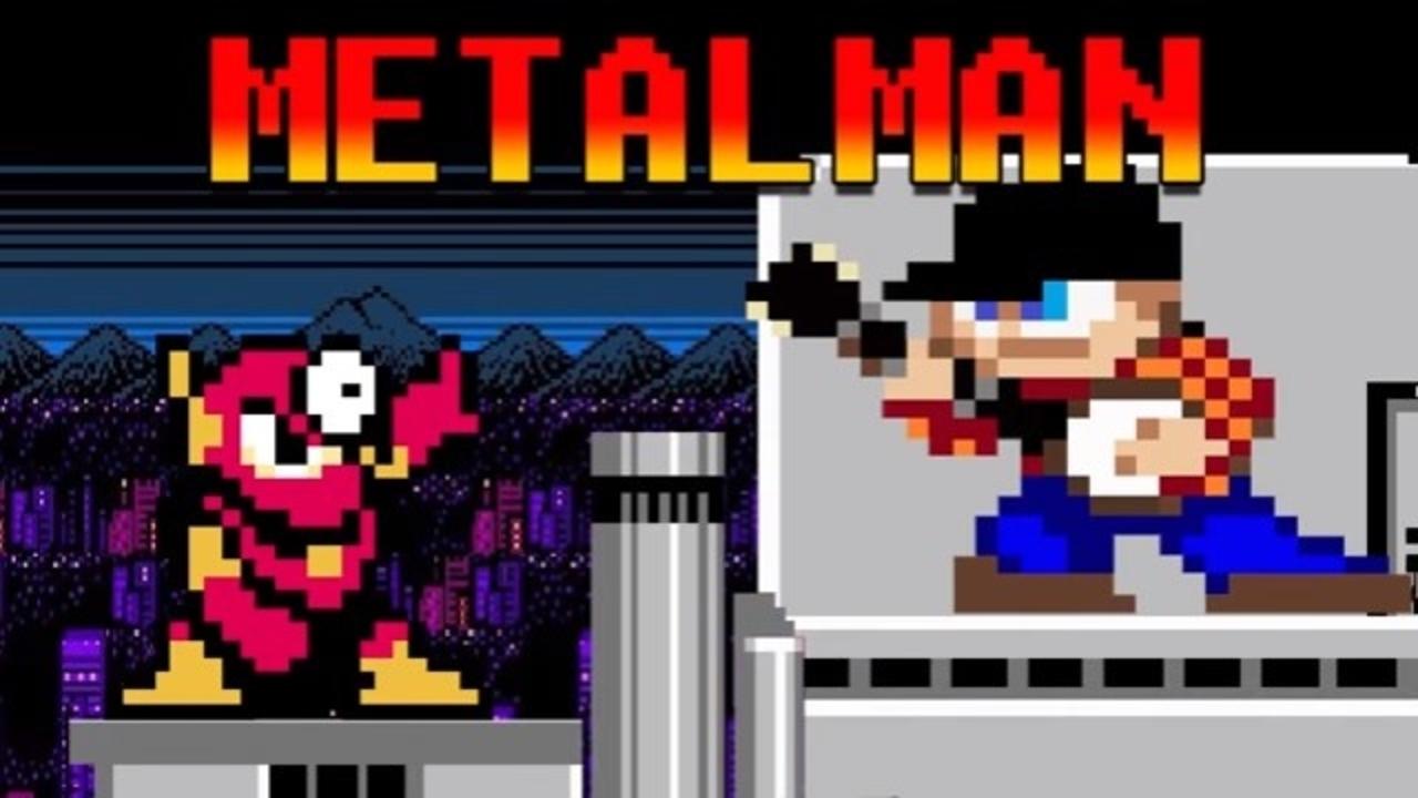 バンジョーで「ロックマン2」メタルマンのテーマを演奏