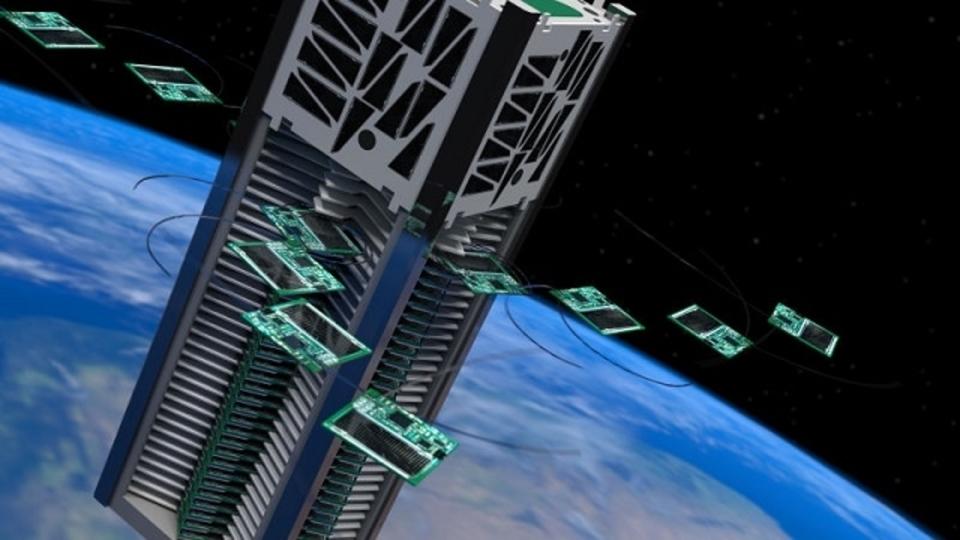 衛星は小さいほどよい。付箋サイズで宇宙探査する「Sprites」