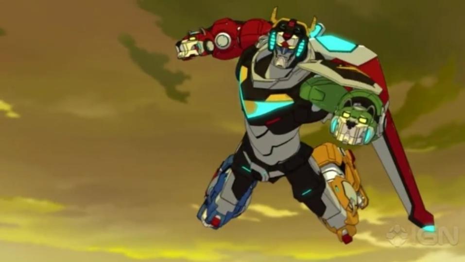 アクション満載なリブート版合体ロボットアニメ「ボルトロン」の特別映像