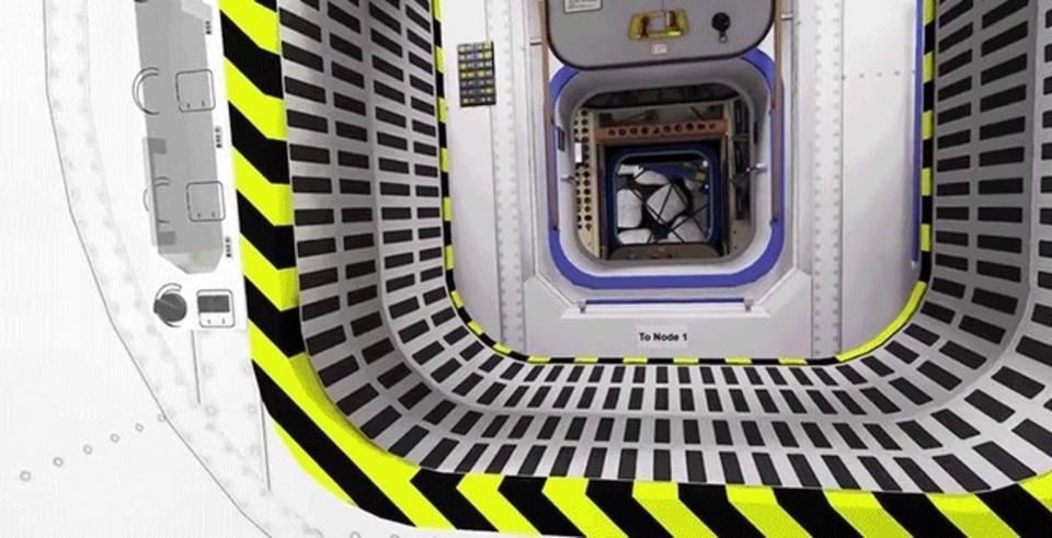 憧れの浮遊体験。ISSの中を疑似体験できる3D動画