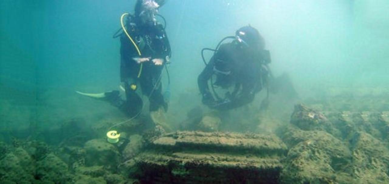 「海に沈んだ古代都市」実は自然が作り上げた現象だった