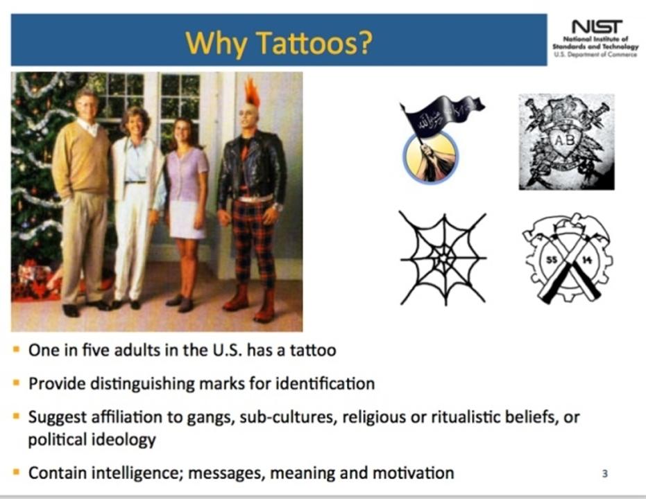 タトゥーを入れている人、当局が勝手にデータベース化しているとの新告発