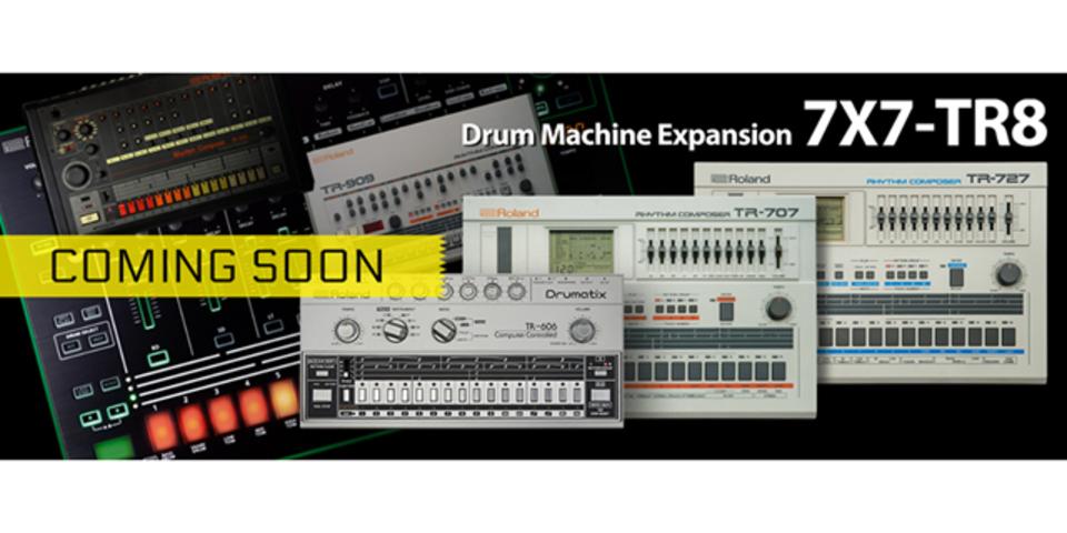 RolandのTR-8でTR-606サウンドが鳴らせるようになります!