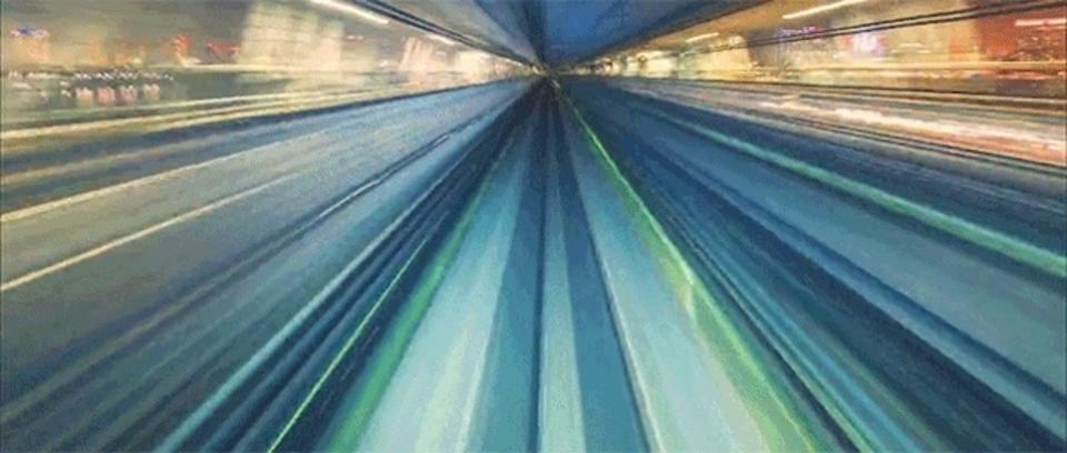 体液のように流れる電車・車・光。巨大な有機体TOKYOが静かにうごめいている