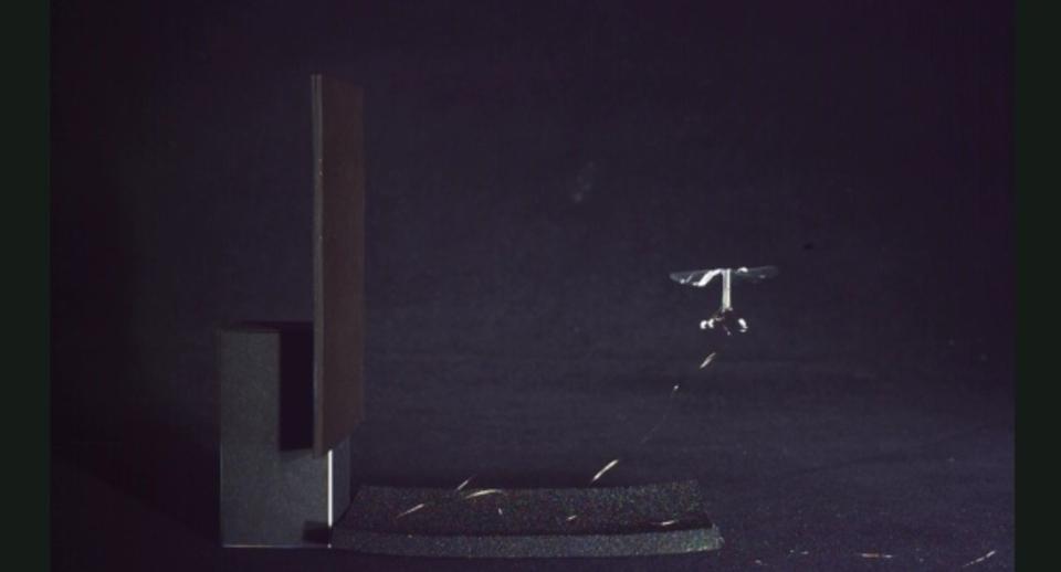 ハーバードが作ったロボットの蜂、泳げるし壁にも止まれるよ