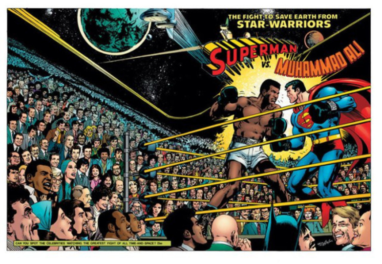 夢の対決「モハメド・アリ対スーパーマン」が実現した経緯
