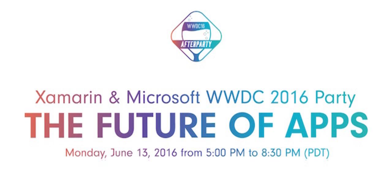 MicrosoftがWWDCのアフターパーティーを勝手に企画、参加無料で撒き餌びっしり