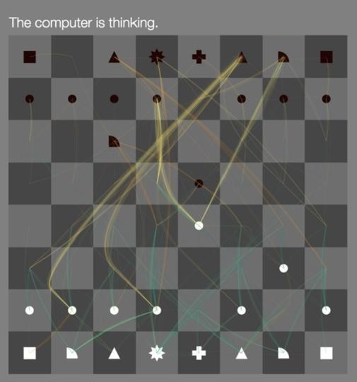 人工知能の「次の一手」が可視化される、インタラクティブなチェス対決