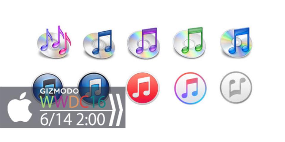 お馴染みのiTunes、WWDCでデザインの刷新が発表?