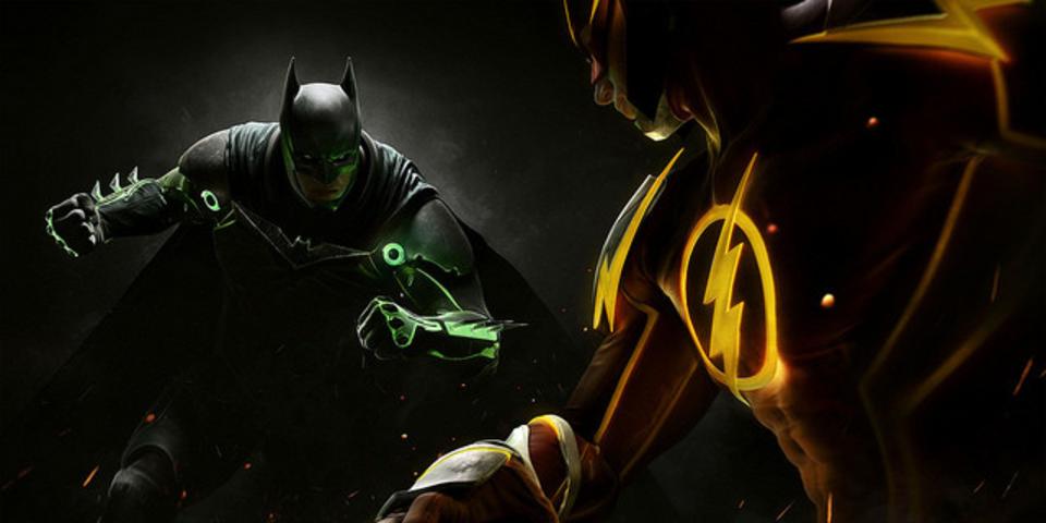 DCコミックスのヒーローたちが戦う格闘ゲーム「Injustice 2」トレーラー