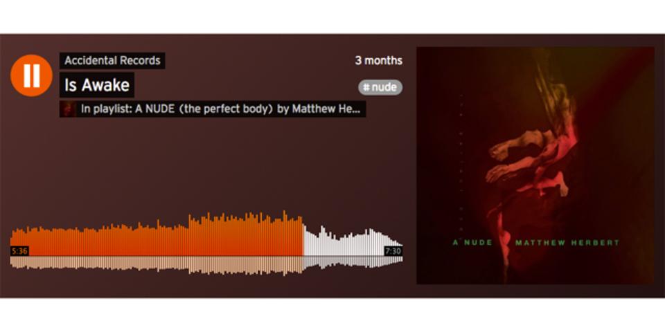 ある種究極のアンビ。裸体から生まれる音のみで作られたアルバム