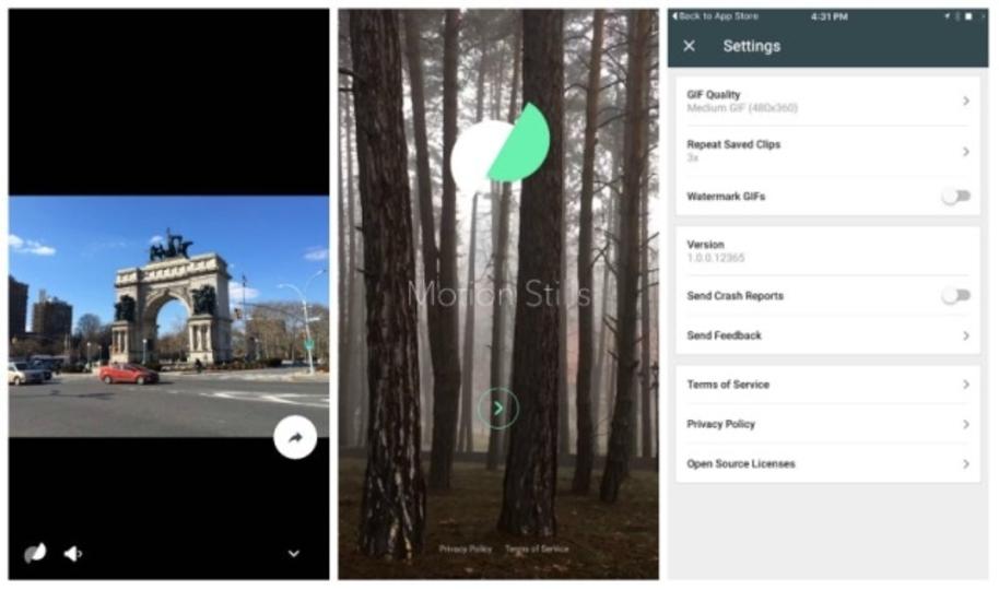 iPhoneで撮影したLive PhotosをGIFアニメーション化するGoogleのアプリ「Motion Stills」