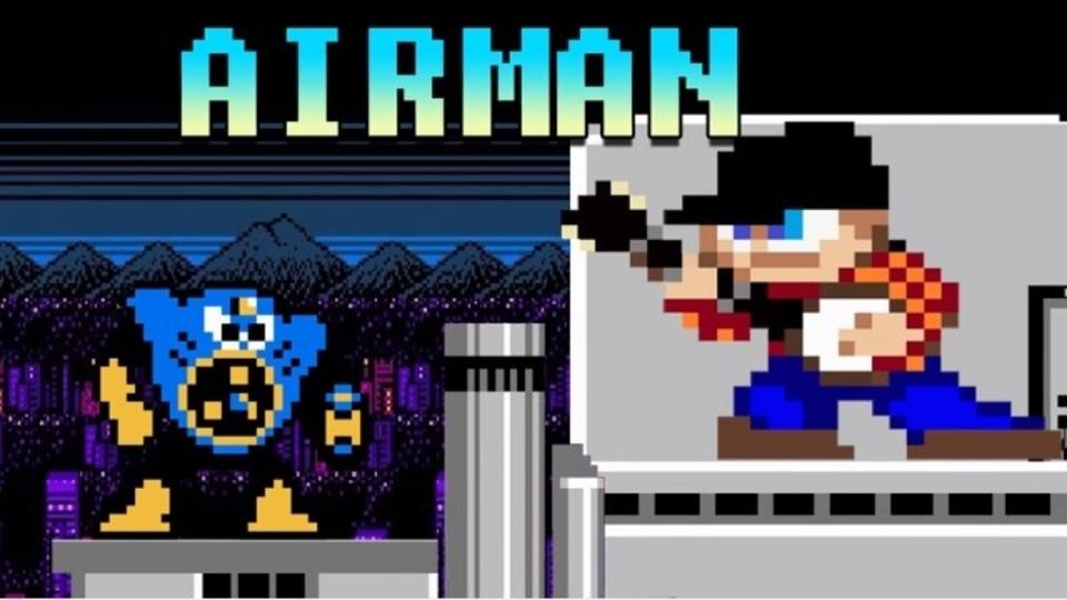 癒しの懐ゲー音楽。「ロックマン2」エアーマンのテーマをバンジョーで演奏