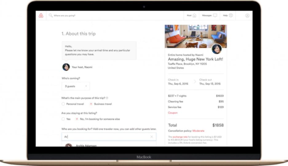 友達と宿泊計画、上司の宿泊手配...Airbnbがどんどんホテルの役割うばっている