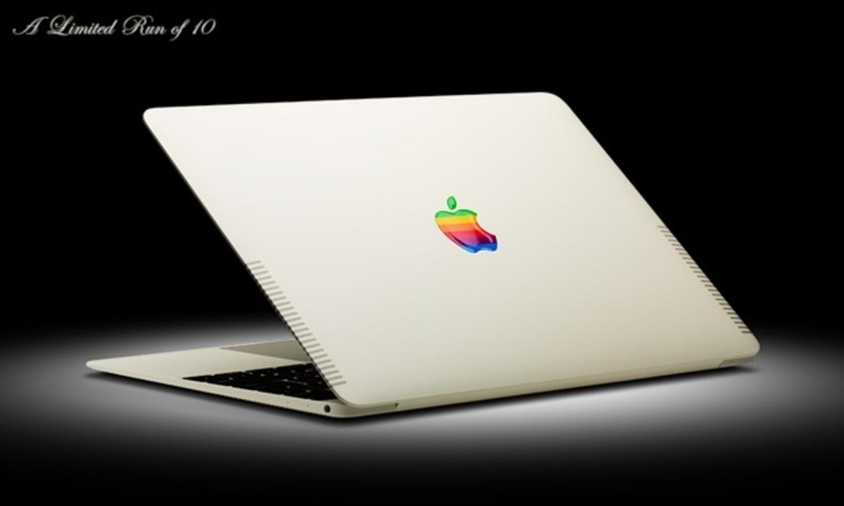Apple II風にカスタマイズされたMacBookが登場。しかし一瞬で…