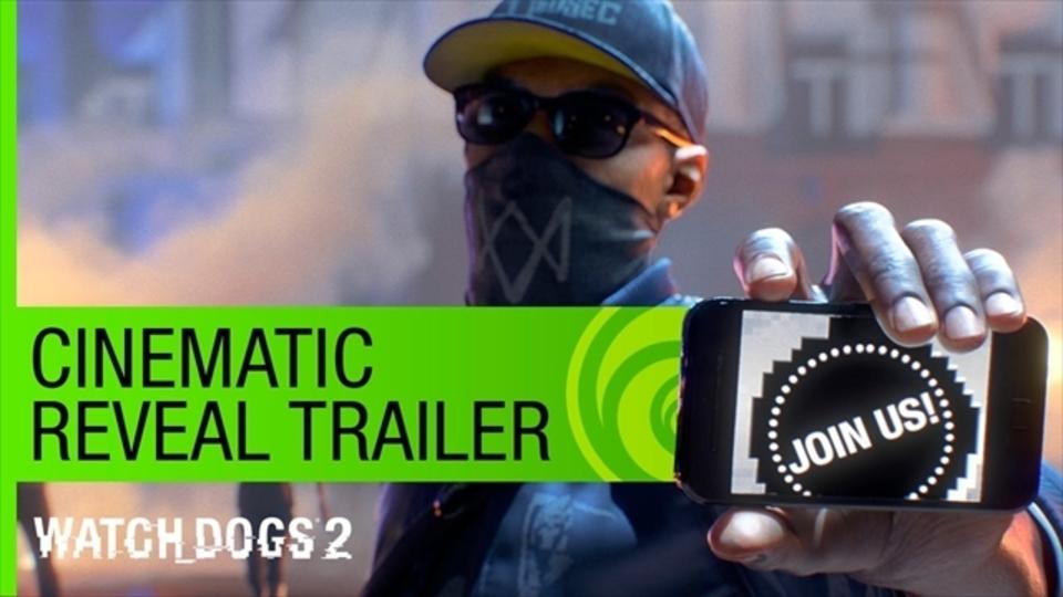 最新技術を駆使して町中をハックする「Watch Dogs 2」のトレーラーが公開!