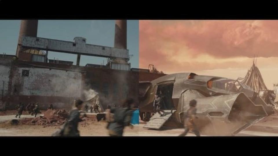 映画「ダイバージェント・シリーズ」第3部前編「アリージェント part1」のVFXの裏側