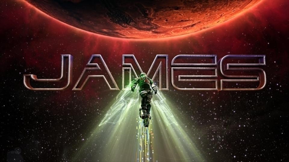 パワードスーツを着た、病気の少年を描くSF短編「James」