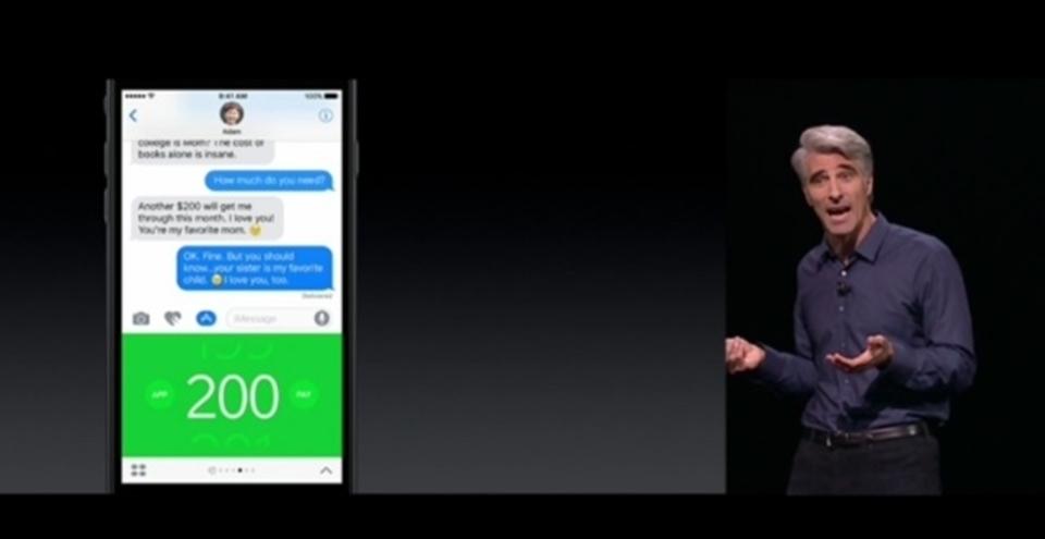 iMessage開放でメッセージは(Android抜きの)商圏に
