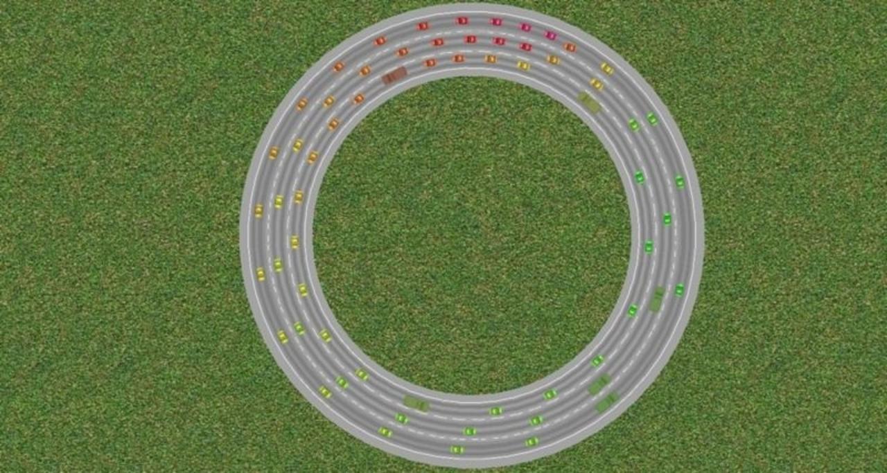ナゾの渋滞はこうやって起きる...交通現象シミュレーターから学ぶこと