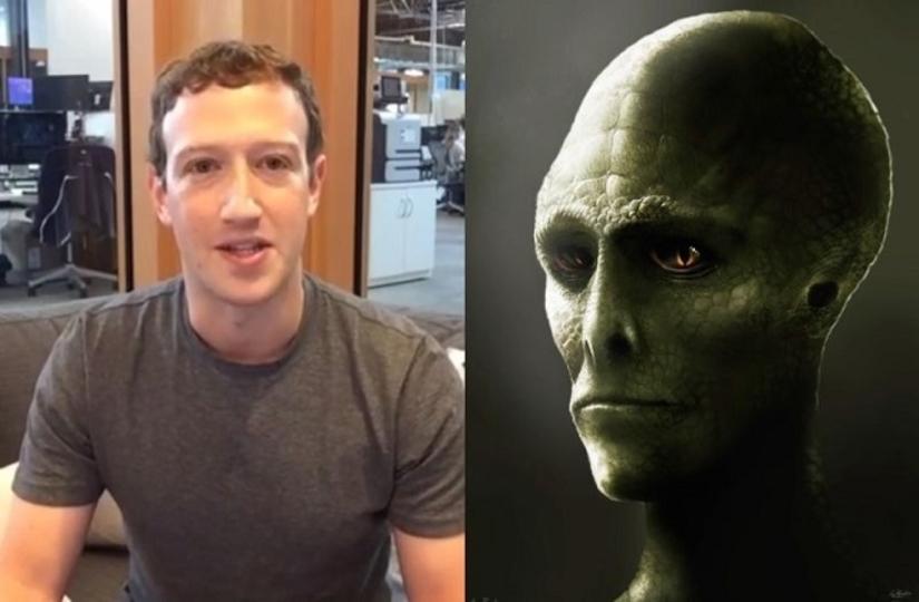 マーク・ザッカーバーグが陰謀論を否定「僕はトカゲじゃない、人間だよ」
