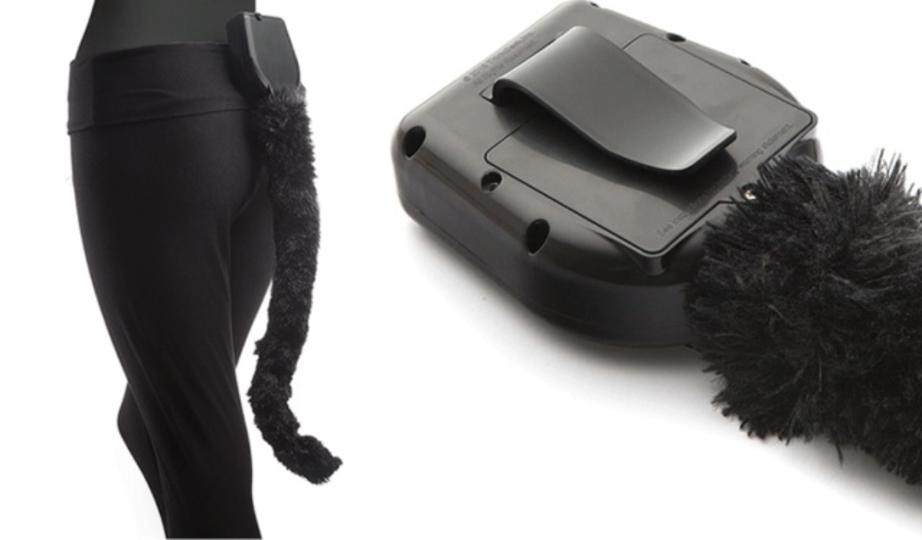 猫になりたい願望を持つ方へ朗報。動くウェアラブル尻尾が販売中