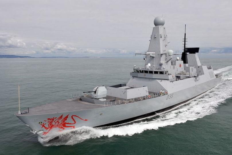 海が熱すぎてイギリスの軍艦が壊れる
