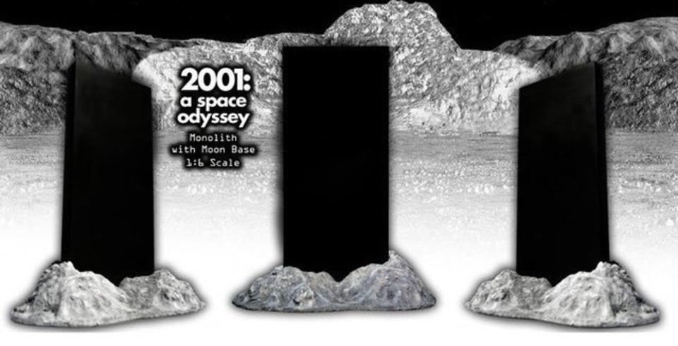 1/6スケールの「2001年宇宙の旅」モノリスが発売
