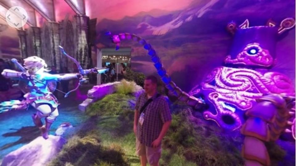任天堂がE3の会場に作ったハイラル王国を360度動画で見てみよう