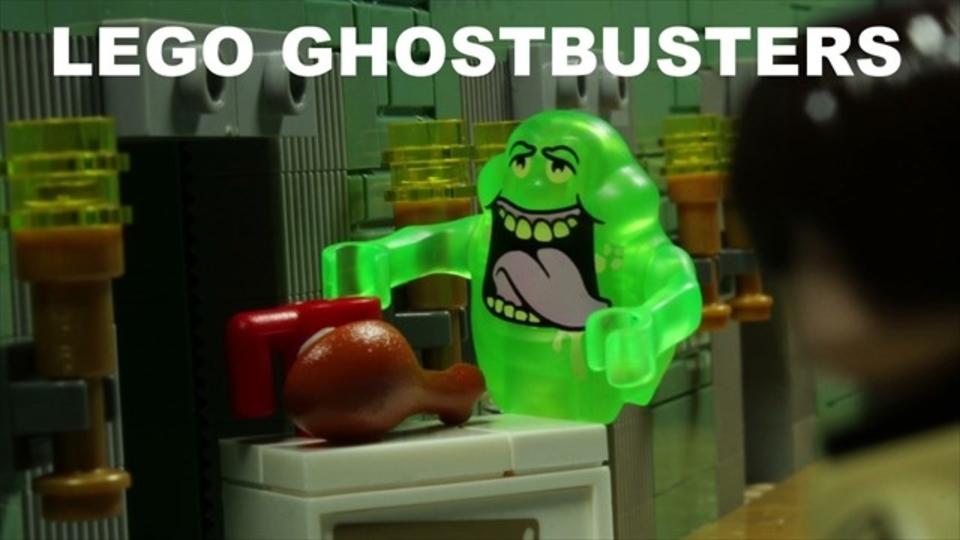 レゴのストップモーションで「ゴーストバスターズ」を再現