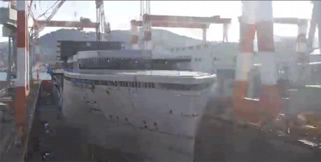 壮大な気分になれる。クルーズ客船ってどうやって作るの?
