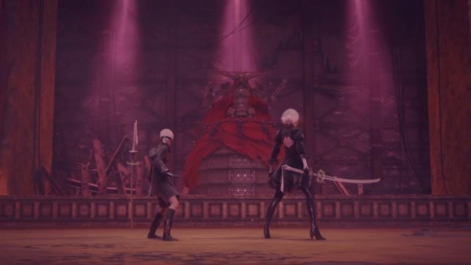 「ニーア」シリーズの新作「NieR:Automata」のボス戦動画