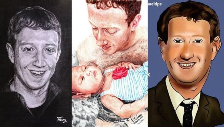 世にも奇妙なマーク・ザッカーバーグのファンアートの世界