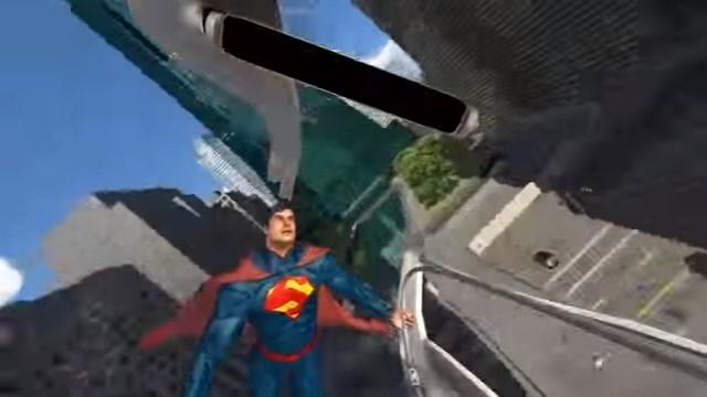 スーパーマン・ライド・オブ・スティール VR