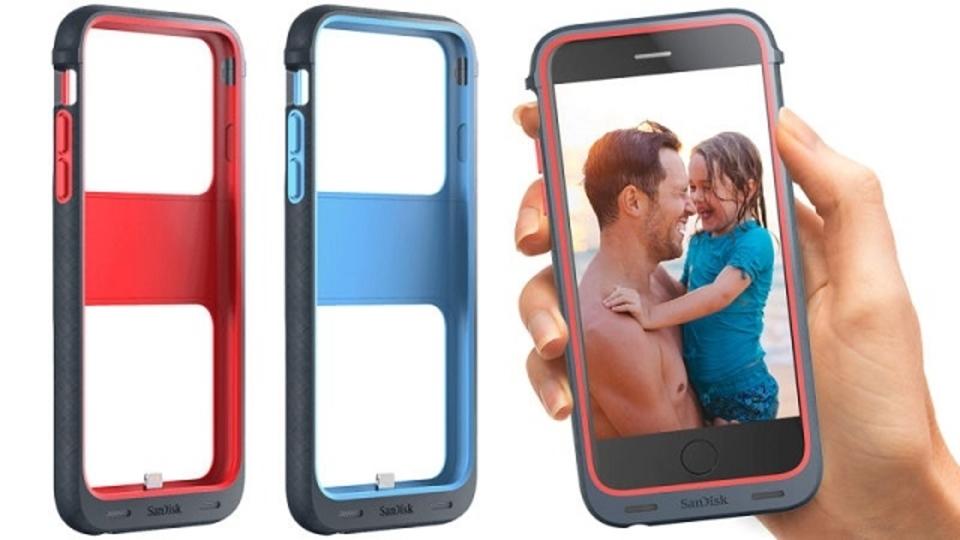 これは便利かも。ストレージがついたiPhoneケース、Sandiskから発売
