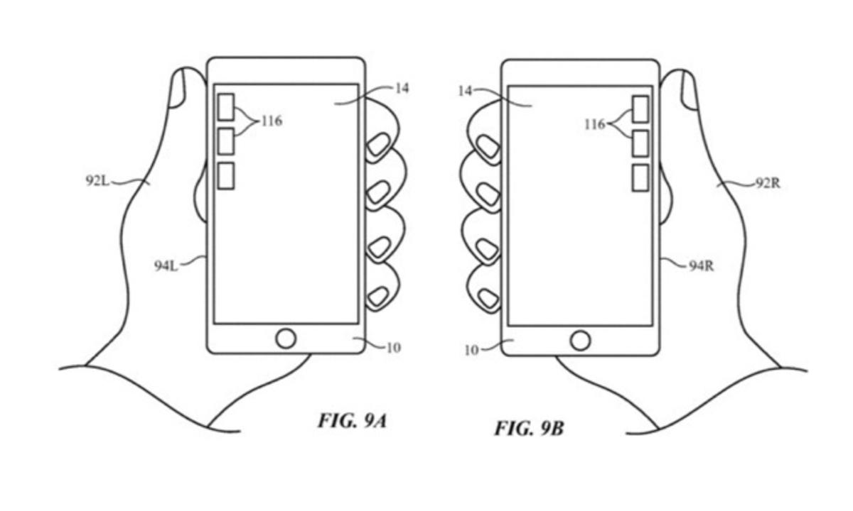 右手でiPhone持ったらボタンが右に、左手で持ったら左に…な夢の機能が全iPhoneにくるかも
