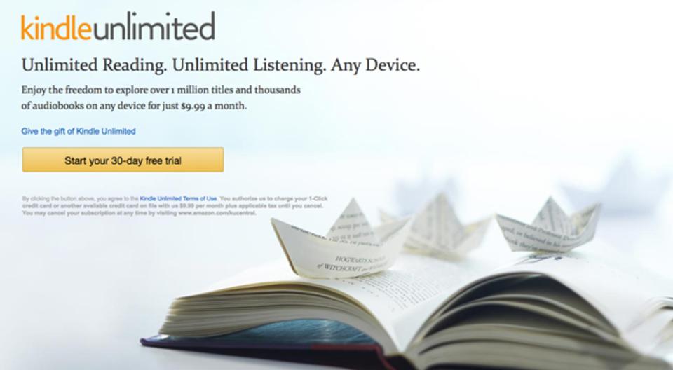 5万5000冊の本が読み放題?「Kindle Unlimited」が日本でも近々サービス開始の可能性、大