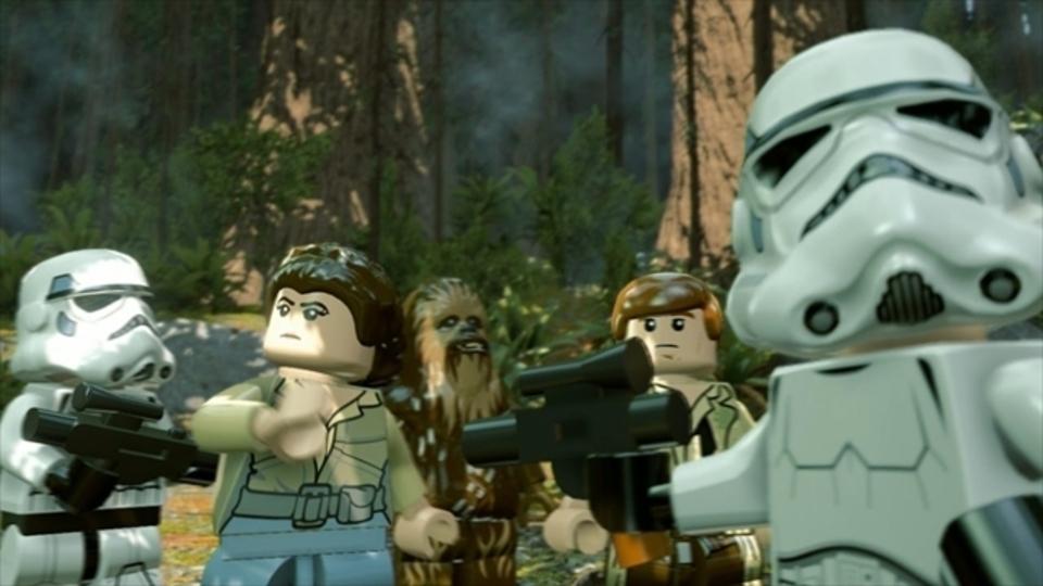 ゲーム「LEGOスター・ウォーズ/フォースの覚醒」の長尺プレイ動画
