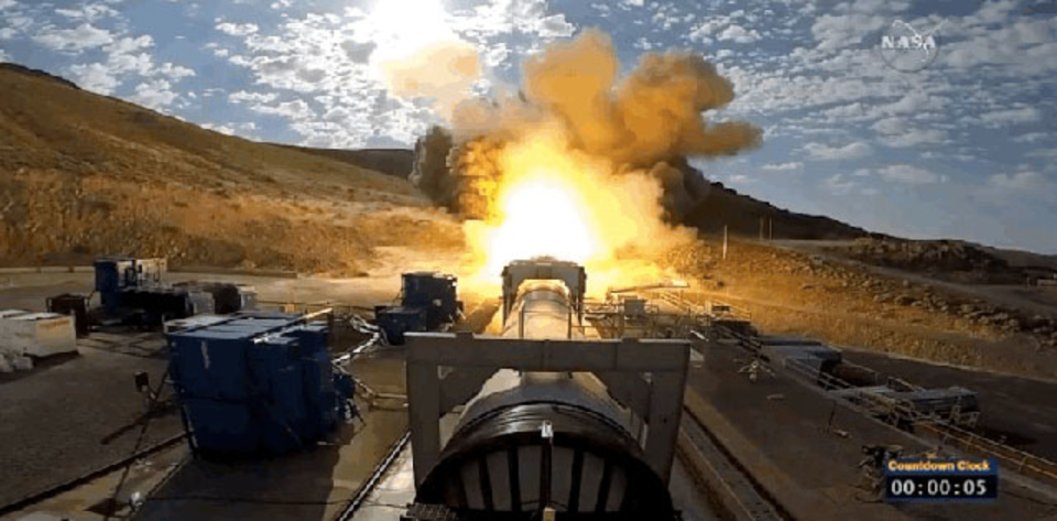 火星移住へまた1歩前進。NASAが77トンのロケットブースターの運用テストに成功