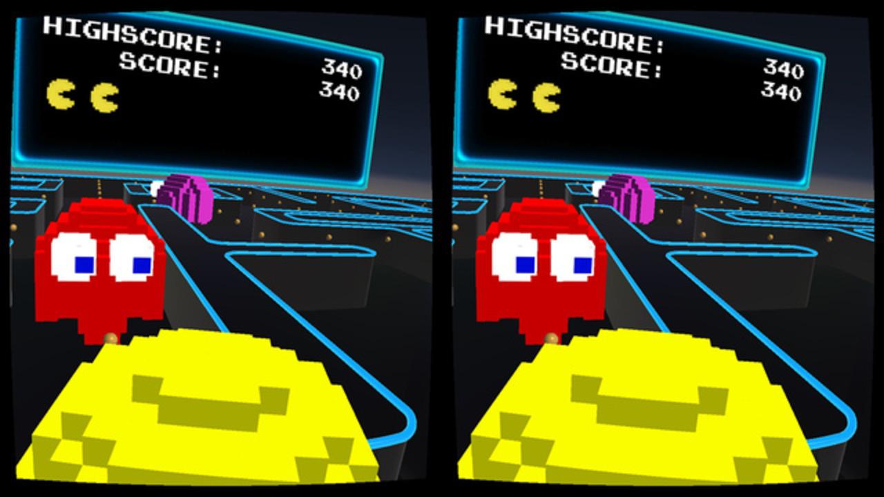 VRでワカワカしよう! パックマンのMilboxTouch版がiOS向けに登場